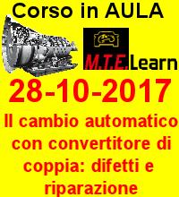28-10-2017 - Il cambio automatico con convertitore di coppia: malfunzionamenti, diagnosi e riparazione