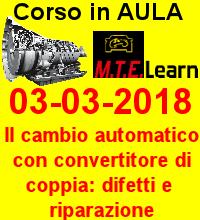 03-03-2018 - Il cambio automatico con convertitore di coppia: malfunzionamenti, diagnosi e riparazione