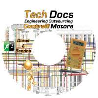 Schemi elettrici controlli motore Diesel+Benzina