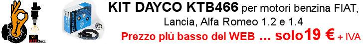 Ricambio e Attrezzatura OK - KIT DAYCO KTB466